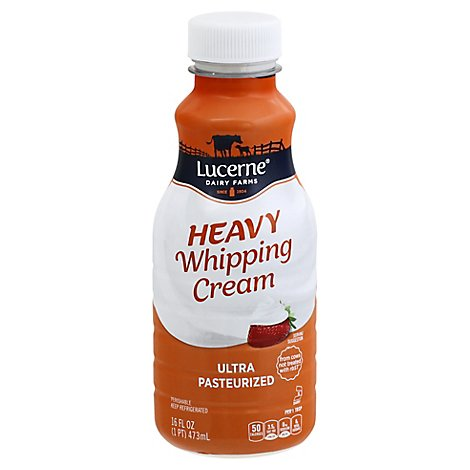 Lucerne Heavy Whipping Cream - 16 Fl. Oz.