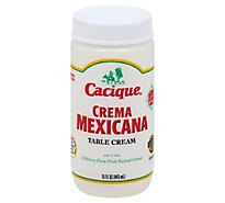 Cacique Mexicana Crema Table Cream - 15 Fl. Oz.