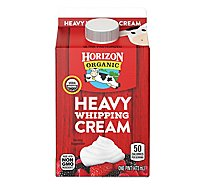 Horizon Organic Whipping Cream Heavy - 1 Pint