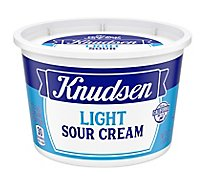 Knudsen Light Sour Cream - 16 Oz