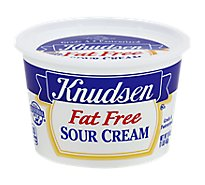 Knudsen Fat Free Sour Cream - 16 Oz