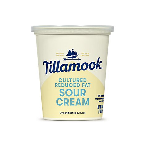 Tillamook Low Fat Sour Cream - 16 Oz
