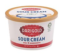 Darigold Sour Cream Regular - 16 Oz