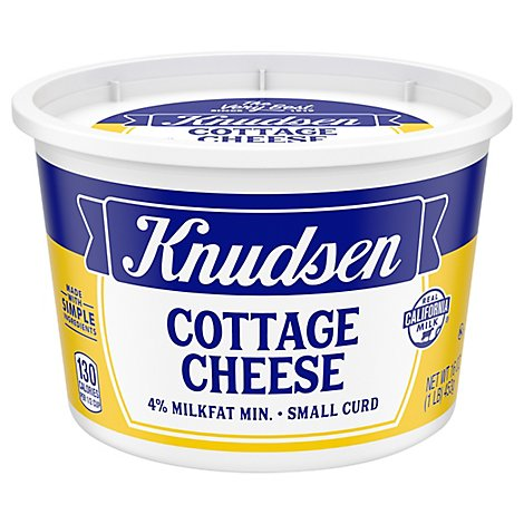 Knudsen Cottage Cheese Small Curd - 16 Oz