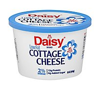 Daisy Cheese Cottage Small Curd 2% Milkfat Low Fat - 16 Oz