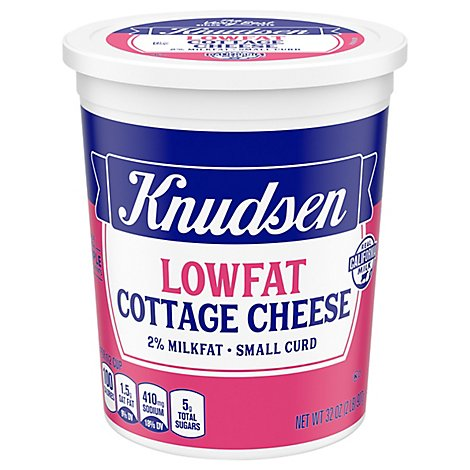 Knudsen Cottage Cheese Reduced Fat - 32 Oz