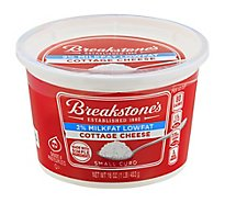 Breakstones Cottage Cheese Small Curd 2% Milkfat Lowfat - 16 Oz