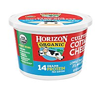Horizon Organic Cottage Cheese Low Fat - 16 Oz
