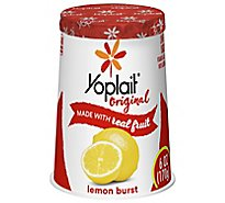 Yoplait Original Yogurt Low Fat Lemon Burst - 6 Oz