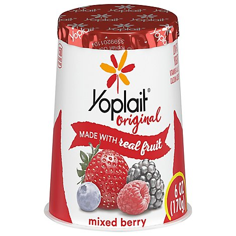 Yoplait Original Yogurt Low Fat Mixed Berry - 6 Oz