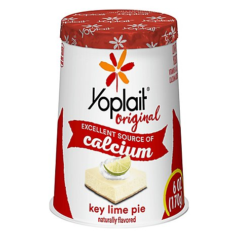 Yoplait Original Yogurt Low Fat Key Lime Pie - 6 Oz