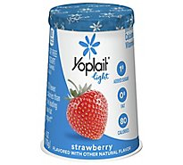 Yoplait Light Yogurt Fat Free Strawberry - 6 Oz