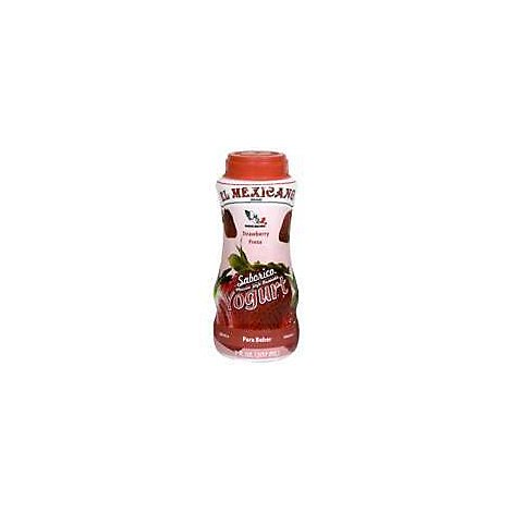 El Mexicano Drinkable Yogurt Strawberry - 7 Fl. Oz.