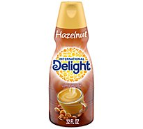 International Delight Coffee Creamer Hazelnut - 32 Fl. Oz.