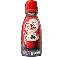 Coffee-mate Coffee Creamer Liquid Peppermint Mocha - 32 Fl. Oz.