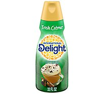 INTERNATIONAL Delight Coffee Creamer Gourmet Irish Creme Cafe - 32 Fl. Oz.