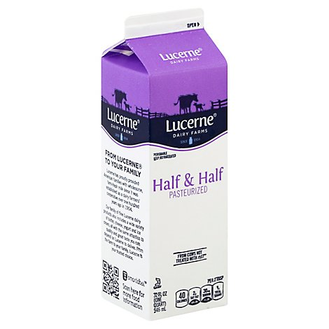 Lucerne Half And Half - 32 Fl. Oz.