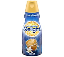 INTERNATIONAL Delight Coffee Creamer Gourmet French Vanilla - 32 Fl. Oz.