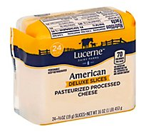 Lucerne Cheese Food Slices American Deluxe - 16 Oz