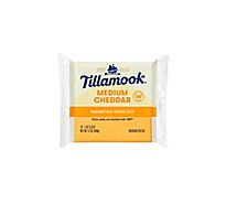 Tillamook Medium Cheddar Cheese Slices - 12 Oz