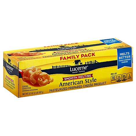 Lucerne Cheese Food Smooth Melting American - 32 Oz