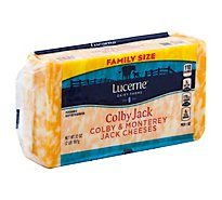 Lucerne Cheese Natural Colby Jack - 32 Oz