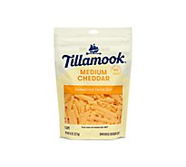 Tillamook Medium Cheddar Shredded Cheese - 8 Oz