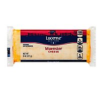 Lucerne Cheese Muenster - 8 Oz