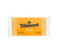 Tillamook Medium Cheddar Cheese Loaf - 16 Oz