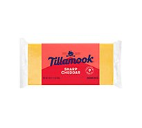 Tillamook Sharp Cheddar Cheese Junior Loaf - 16 Oz