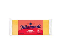 Tillamook Sharp Cheddar Cheese - 8 Oz