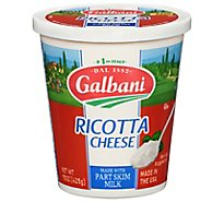 Galbani Cheese Ricotta With Part Skim Milk - 15 Oz