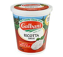 Galbani Cheese Ricotta With Whole Milk - 15 Oz