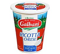 Galbani Cheese Ricotta With Part Skim Milk - 32 Oz