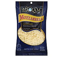 Haolam Shredded Mozzarella Cheese - 8 Oz