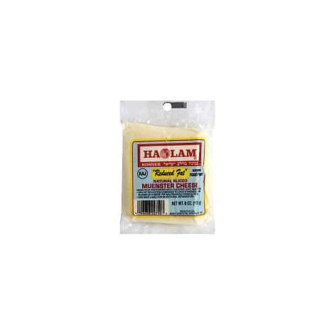 Haolam Sliced Light Muenster Cheese - 6 Oz