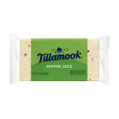 Tillamook Cheese Pepper Jack - 16 Oz