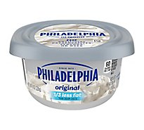 Philadelphia Cheese Cream Reduced Fat 1/3 Less Fat - 8 Oz