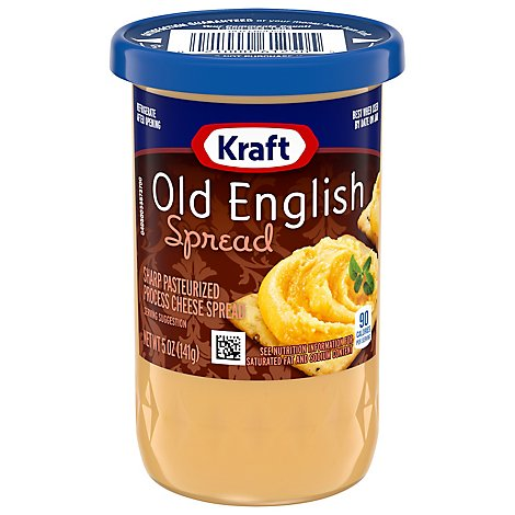 Kraft Spread Cheese Old English - 5 Oz