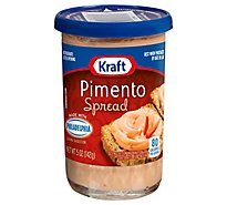 Kraft Spread Cheese Pimento - 5 Oz