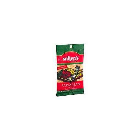 Millers Cheese Parmesan Shredded - 4 Oz