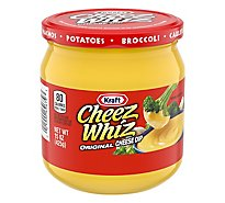 Cheez Whiz Dip Cheese Original - 15 Oz