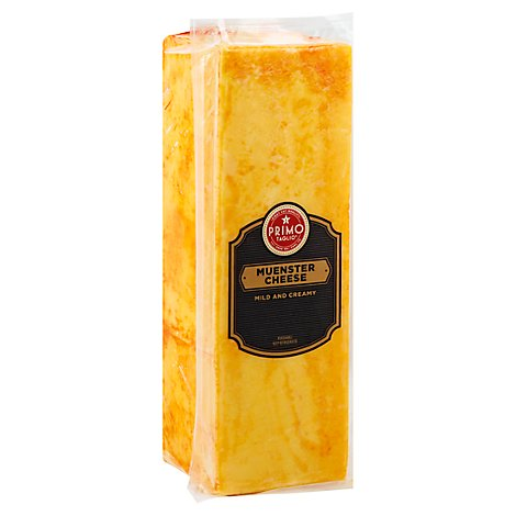 Primo Taglio Cheese Muenster Mild And Creamy - 1 Lb