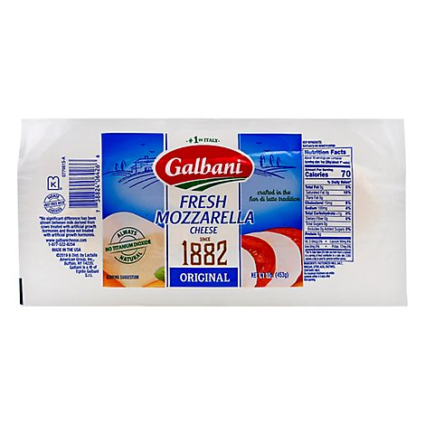 Galbani Cheese Mozzarella Fresca Fresh - 1 Lb