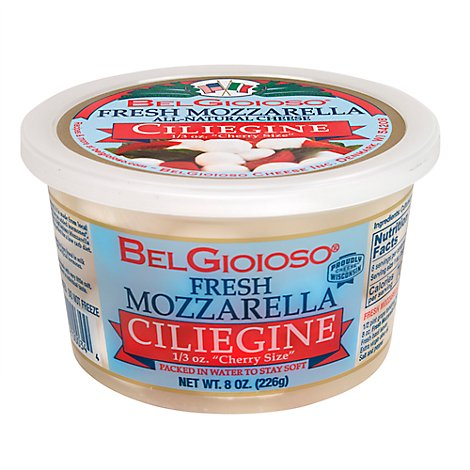 BelGioioso Cheese Mozzarella Fresh Ciliegine - 8 Oz