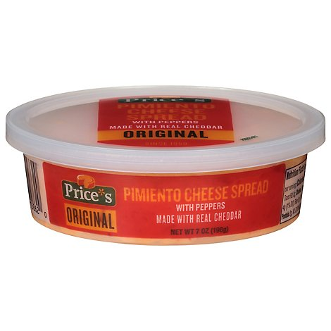 Prices Pimiento Cheese Spread Original - 7 Oz.