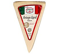 Stella Cheese Asiago Deli Vacuum Pack - 8 Oz