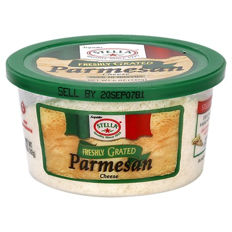 Stella Cheese Parmesan Grated Cheese Cup - 5 Oz