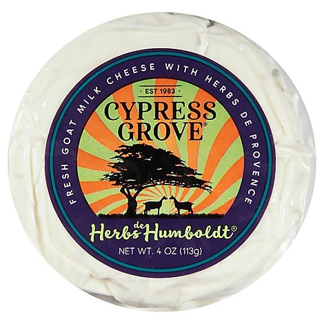 Cypress Grove Chevre Goat Cheese Herb Disk - 4 Oz