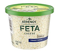Athenos Cheese Feta Crumbled Traditional Large Crumbles - 12 Oz